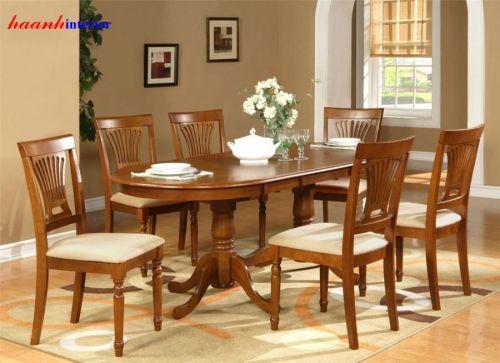 Bàn ghế ăn BGA012