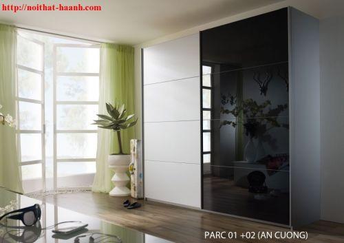 Tủ quần áo hiện đại TAH014