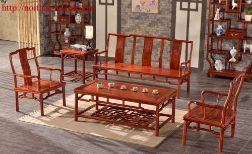 Bàn ghế phòng trà gỗ tự nhiên BGG020