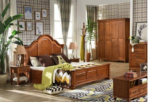Tủ áo gỗ tự nhiên sang trọng và cao cấp. TAH 028
