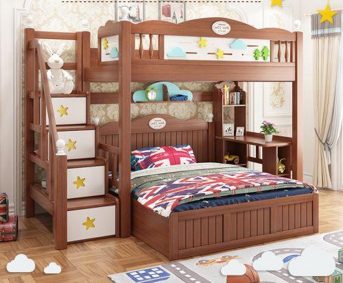 Giường tầng cho bé  ý tưởng sáng tạo. GTE 036