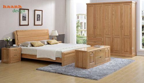 Tủ quần áo gỗ sồi đỏ mỹ chất lượng hàng đầu. TAH 030