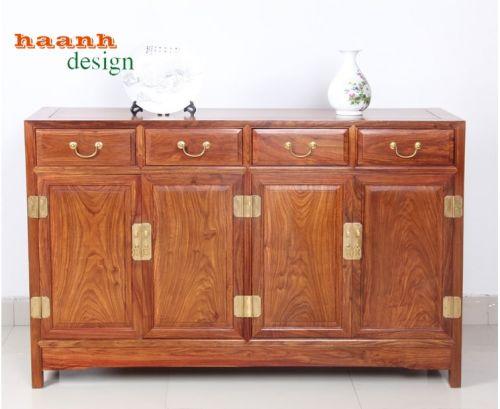 Tủ giầy dép gỗ hương phong cách á đông đời Minh.TGC 008
