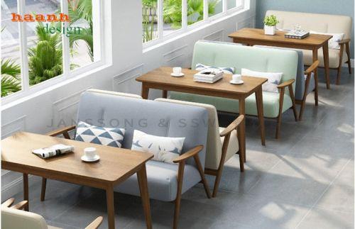 Bàn ghế nhà hàng sang trọng và chất lượng hiện đại. NAH 014
