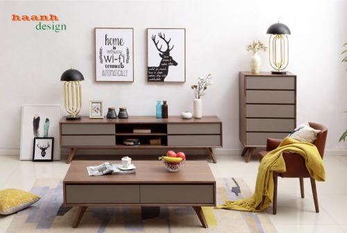 Tủ ngăn kéo gỗ óc cho tự nhiên, tủ ngăn kéo hiện đại TKN 008