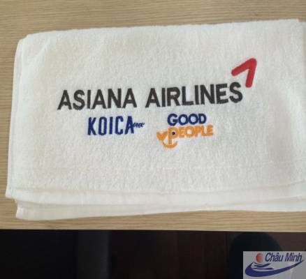 Khăn thêu Asiana Airlines