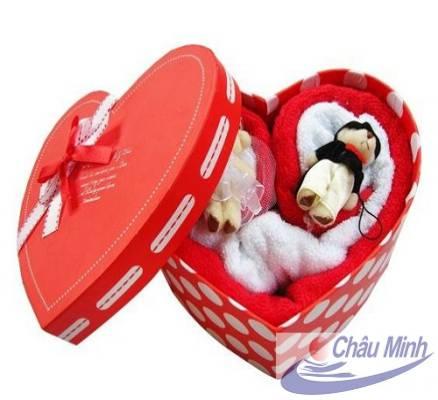 Set khăn Valentine VT02
