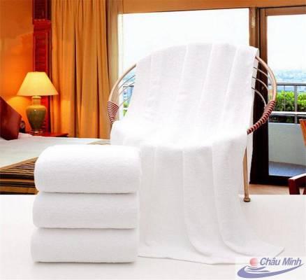 Khăn trải giường cotton 90x180cm 750gr dùng cho spa.