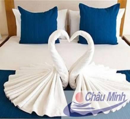 Khăn tắm cotton 70x140cm 500gr dùng cho spa, khách sạn