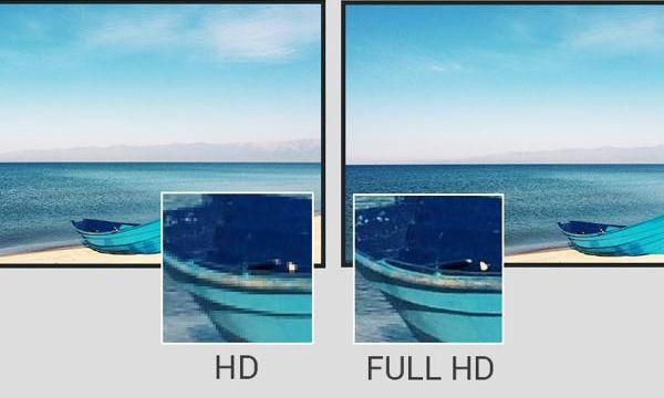 so sánh độ phân giải Full HD và HD