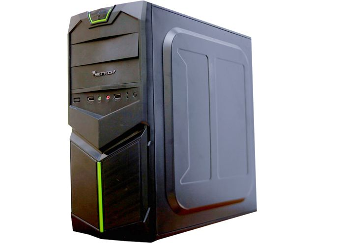 Case Games: Vỏ mới,Nguồn huntkey,Main H61,Chip I3 2120,Ram 4G,HDD 250G,Vga 2GD3