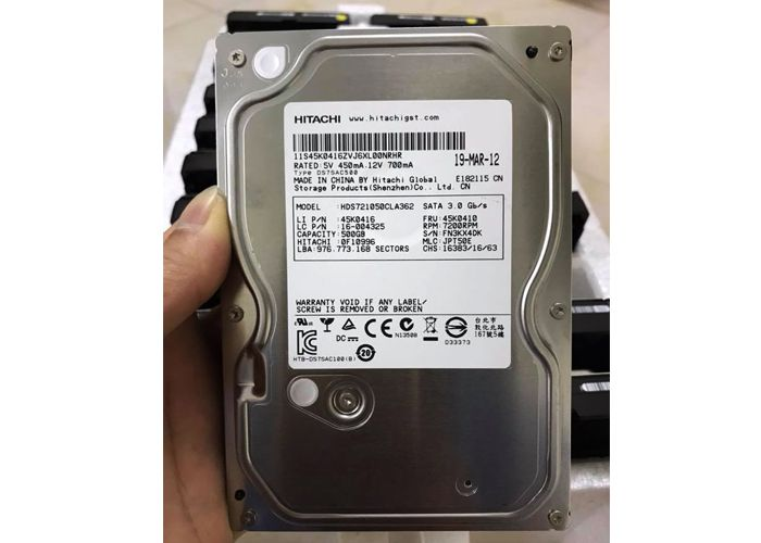 HDD Hitachi 500G