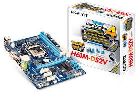 Main Gigabyte H61M-DS2V