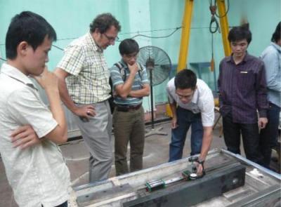 Chế tạo thành công máy phay CNC cao tốc