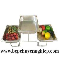 Giá kệ buffet 3 tầng bằng inox 304 SG3CT-325