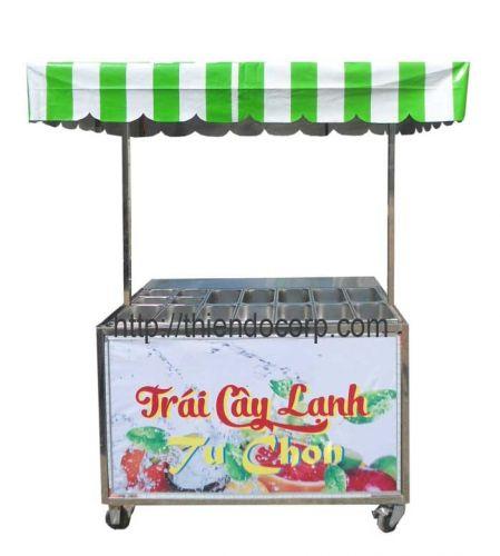Xe bán trái cây tươi tự chọn TC-4