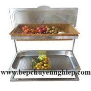 Giá kệ buffet inox giá rẻ 2 tầng SG2CV-350
