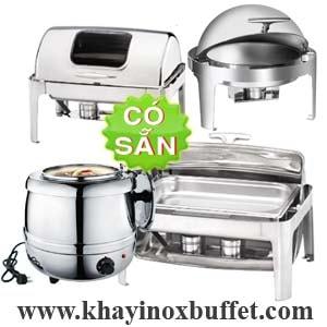 Dụng cụ hâm nóng thức ăn tiệc buffet