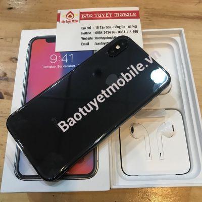 iPHONE X BẢN 64GB LL/A VÀ HÀNG VN/A FPT MỚI 100% ( ĐEN/TRẮNG ) CHÍNH HÃNG BẢN QUỐC TẾ