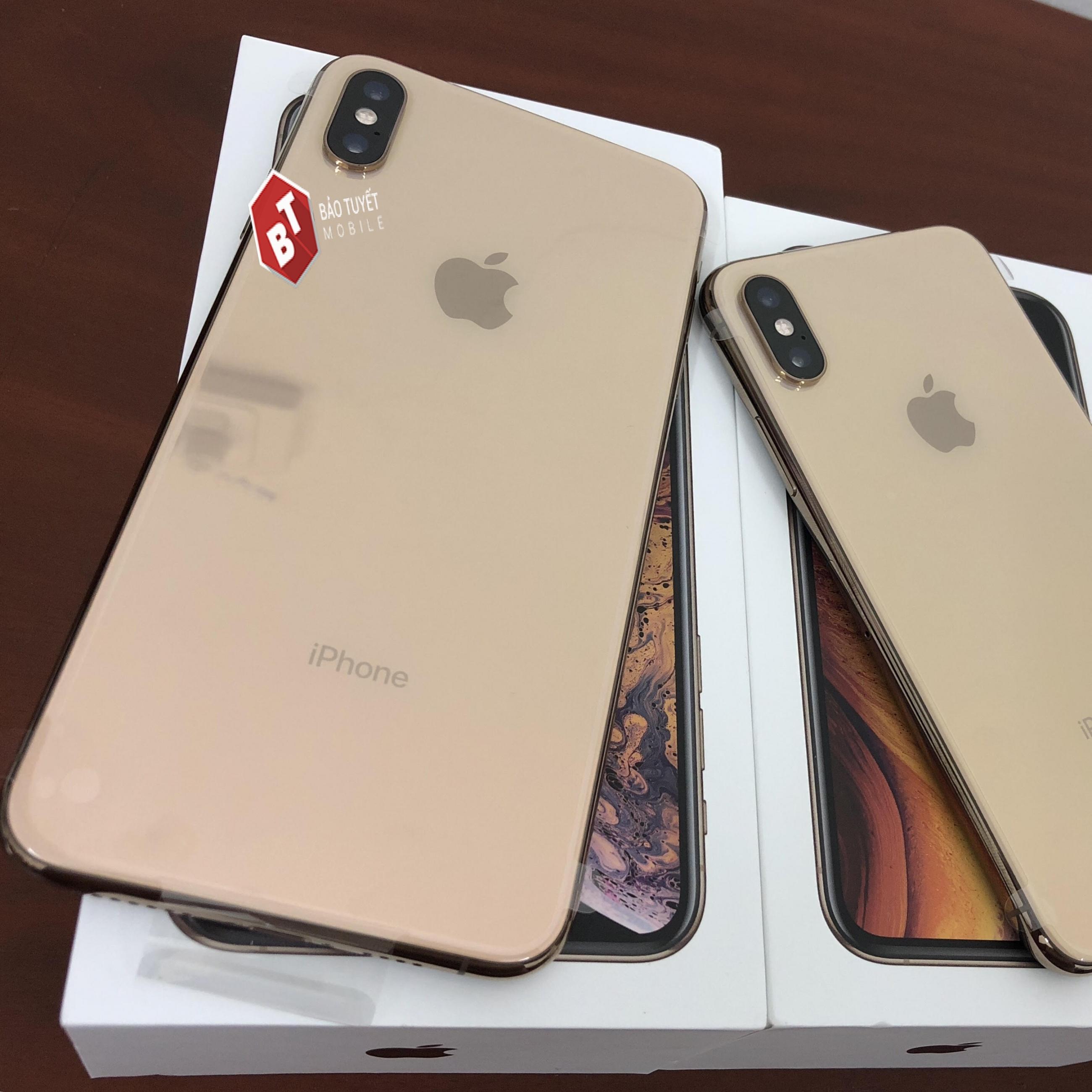 IPHONE XS MAX 64GB MỚI 99%  LL/A (1 SIM VẬT LÝ) BẢN QUỐC TẾ  ĐEN/TRẮNG/VÀNG