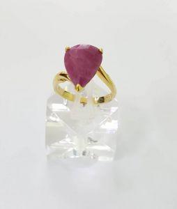 Nhẫn Ruby vàng 14k