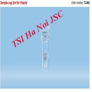 Ống xét nghiệm (sample cup) 2ml cho máy Hitachi