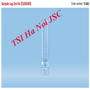 Ống Sample cup 2ml for ES300/600