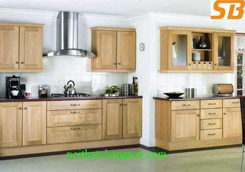 Tủ bếp gỗ tự nhiên 11