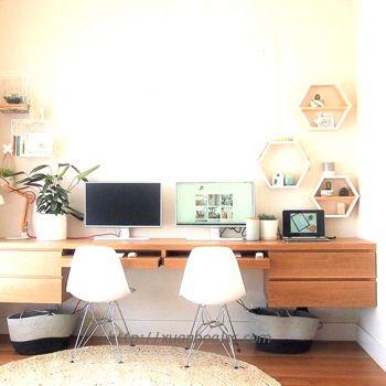 Một số mẫu bàn làm việc dành cho văn phòng tại gia