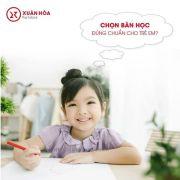 Gìn giữ phong tục khai bút đầu xuân với Bàn học sinh Xuân Hòa