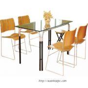 Bộ bàn ăn elíp BCK-0712+GM-28-06