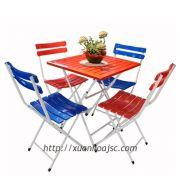 Bộ bàn ghế cafe gấp BCF-02-00+GS-23-00