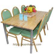 Bộ bàn ghế ăn Xuân Hòa TAB-1608M