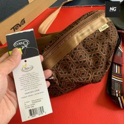 Bags Chaco Radlands Mini Hip Pack (Woven Toffee) Bags - USA