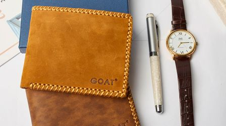 Bộ sưu tập - Ví da Nam Handmade GOAT