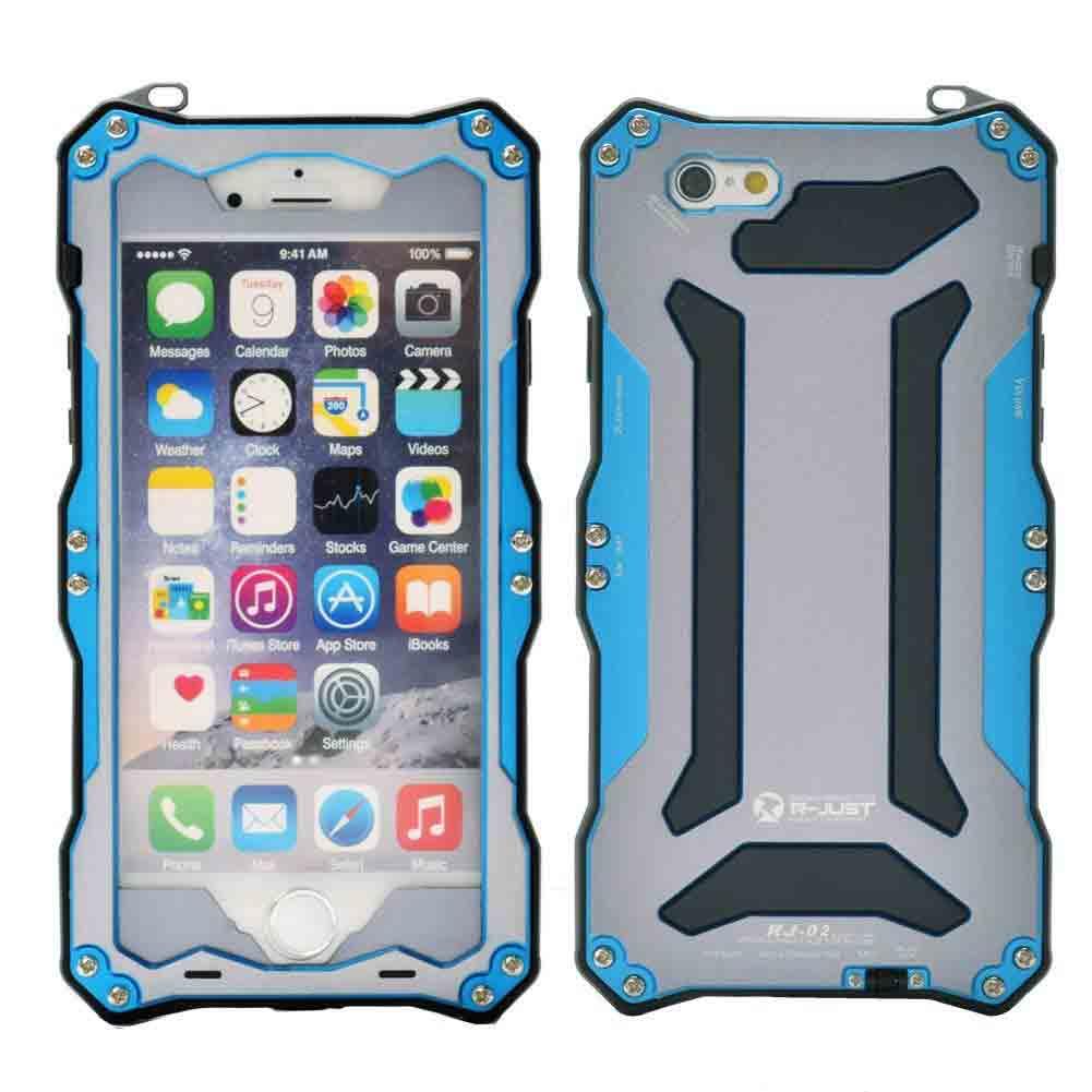 Ốp lưng R-Just Gundam AL iPhone 6 Plus Blue