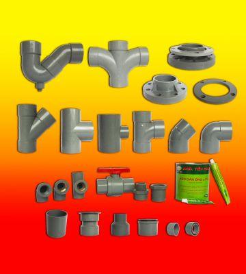 Ống nhựa tiền phong và phụ tùng PVC