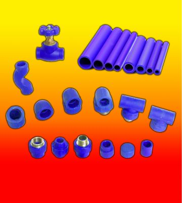 Ống và phụ kiện nhựa PPR-UV  tiền phong