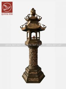 Đèn Đồng - Cao 153 cm