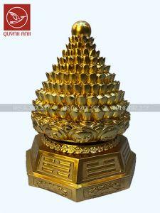 Tháp Đĩnh Tiền - Dát Vàng 24k