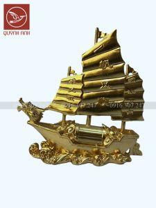 Thuyền Buồm - Dát Vàng 24k