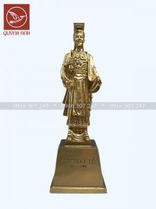 Tượng Vua Lý Thái Tổ - Đồng Vàng