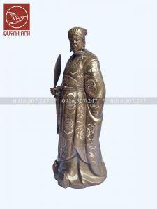 Tượng Khổng Minh Khảm Tam Khí - Mẫu 1