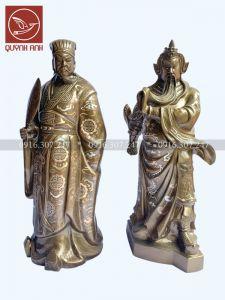 Tượng Quan Công, Khổng Minh - Khảm Tam Khí