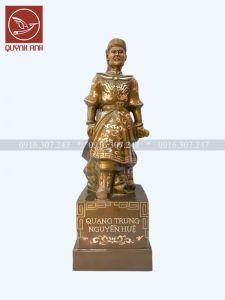 Tượng Quang Trung - Khảm Tam Khí