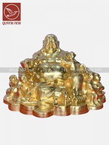 Tượng Phật Di Lạc - Dát Vàng 24k