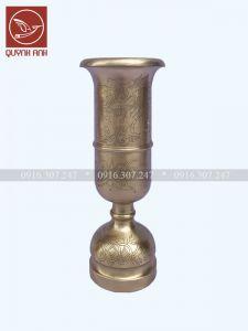 Ống Hương Đồng Vàng - Mẫu 1