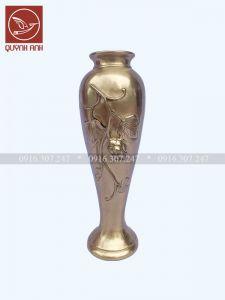 Lọ Hoa Đồng Vàng - Mẫu 3