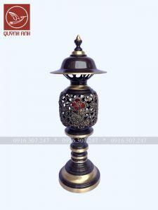 Đèn Đồng - Sơn Màu Giả Cổ