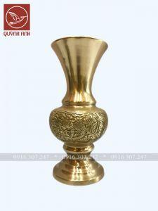 Lọ Hoa Đồng Vàng - Mẫu 6